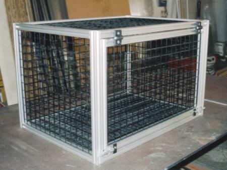 Slideshow jaula aluminio para perros for Jaulas de perros